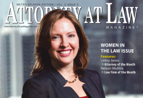 Linley Jones Named Attorney at Law – Attorney of the Month.