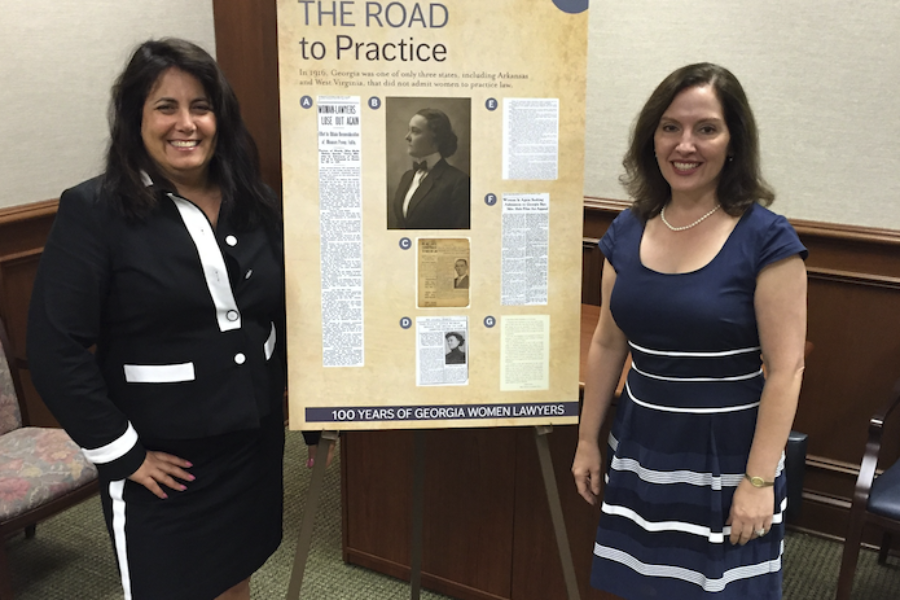 Honoring the 100th Anniversary of Women in the Practice of Law in Georgia