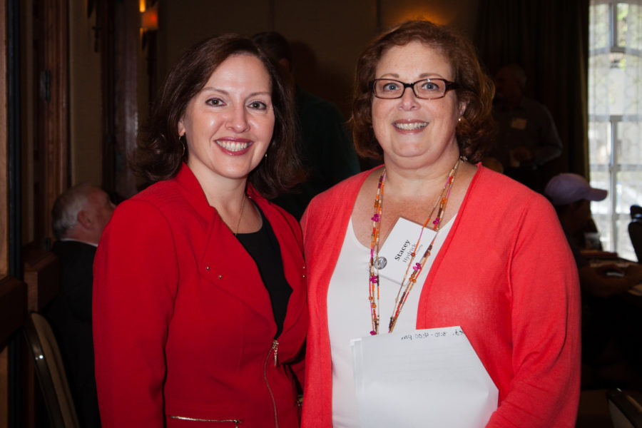 Linley with Dekalb County State Court Judge Stacey Hydrick