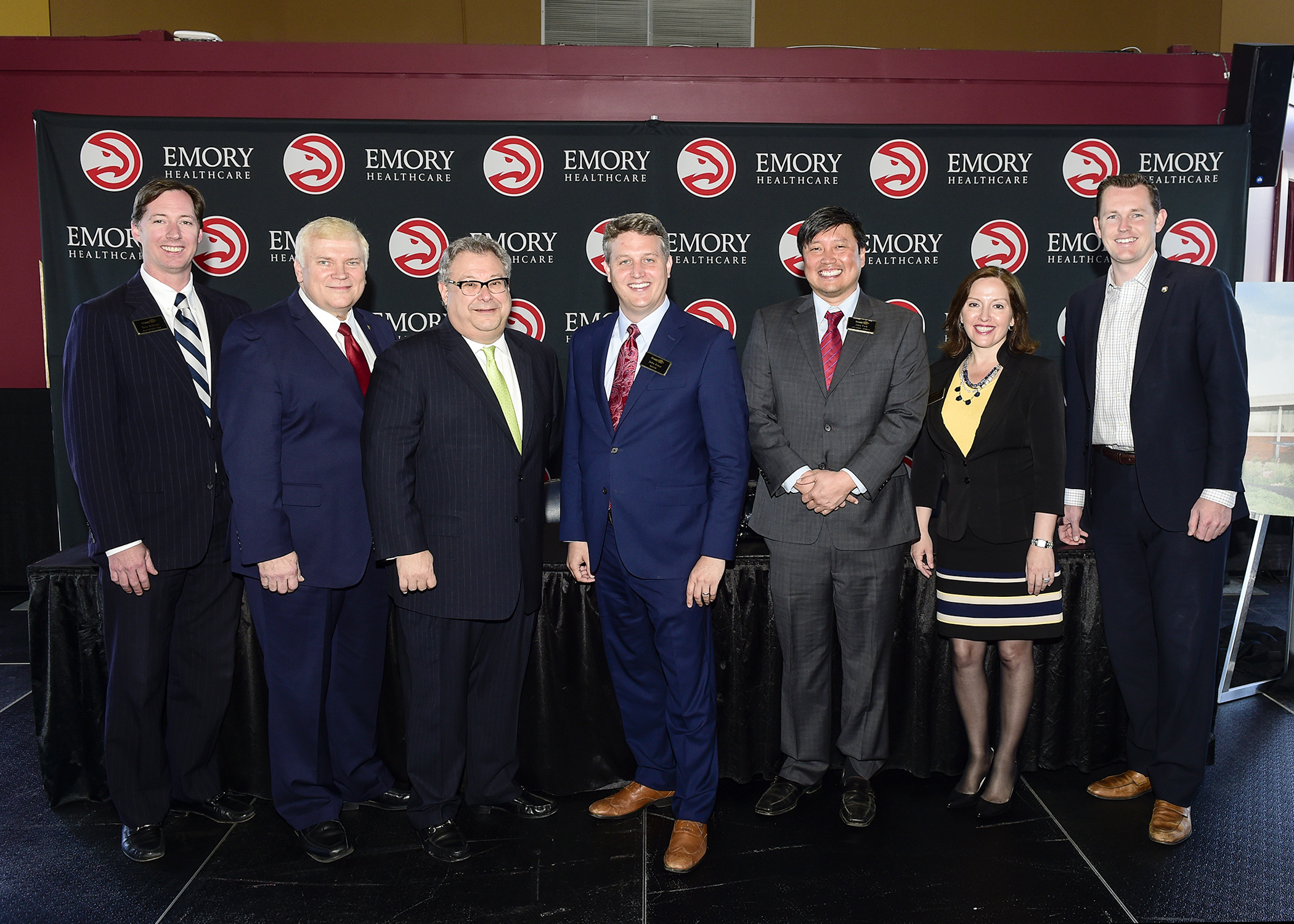 Linley helped bring Emory Healthcare and the Atlanta Hawks to Brookhaven