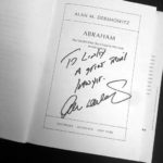Personal Note from Harvard Law Professor Alan Dershowitz